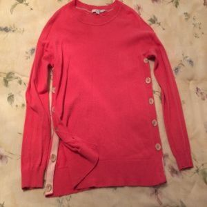 BODEN side button long sleeved sweater
